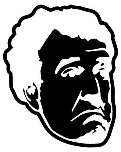 Jeremy Clarkson Top Gear - Sticker Graphic - Auto, Wall, Laptop, Cell, Truck Sticker for Windows, Cars, Trucks (Sticker Top Gear Bumper)