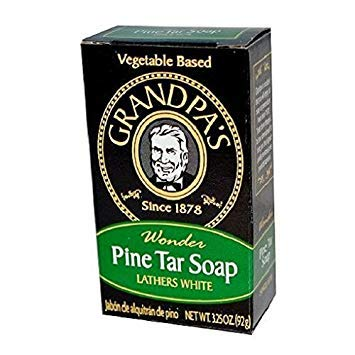 Grandpa's Pine Tar Soap 3.25 Oz (Pack of 2) (Best Pine Tar Soap)