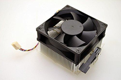 Genuine Dell Inspiron 546 Heatsink, CPU Heatsink and Fan, Compatible Part Numbers: 6W19C, K643N, 4-Pin Fan Plug, Fits Dell Inspiron 546 Mini Tower MT Systems