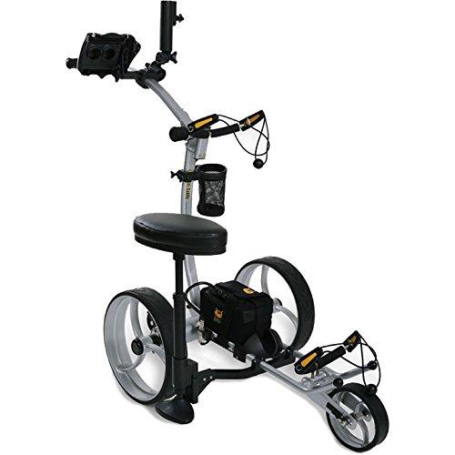 Bat Caddy X8R Electric Golf Bag Cart Caddy w/ Lithium Battery & - Electric Carts Golf Bag