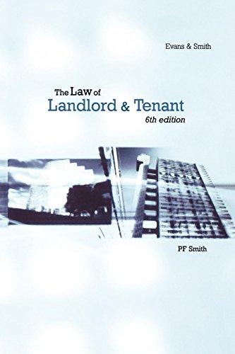 Law Of Landlord & Tenant
