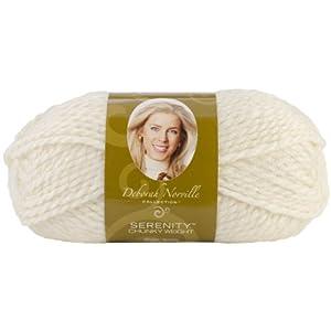 Premier Yarn Deborah Norville Collection 3-Pack Serenity Chunky Solid Yarn, Pristine