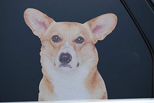 Doggie in the Window car and truck window dog decal - Pembroke Welsh Corgi