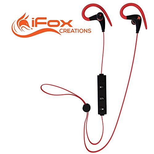 iFox iFE3 Bluetooth Sports Earphones with Built-in Mic for i