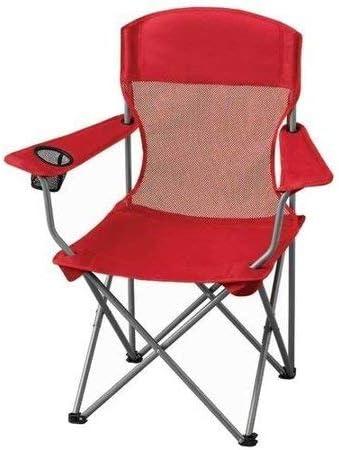 Amazon.com: Ozark Trail Basic - Silla de malla, color rojo ...