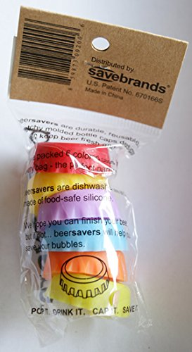 Beer Savers – Silicone Rubber Bottle Caps