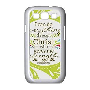 Christian Theme Case Cover Protector for Samsung Galaxy S3 I9300