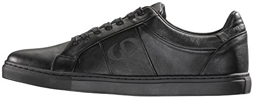 PHINOMEN PHILING LEATHER Sneaker - Handarbeit - made in Portugal All Black