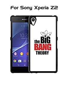 Xperia Z2 Funda Case - TV Series The Big Bang Theory Logo Special Design Style Protection Design [Scratch Resistant] Tough # Special Protection Funda Case Cover For Your Cell Phone With Special Design Sony Xperia Z2 (Not For Z2 V / Z2 Compact)