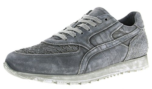 Multicolor Piel gris mujer de Ca'Shott Zapatillas gris para Gris 10PUwExw