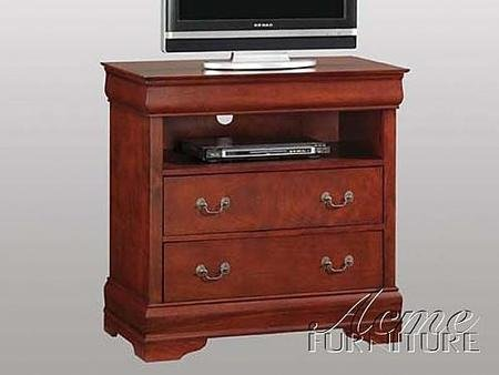 Acme Furniture 09811 Louis Philippe II TV Console in by Acme Furniture