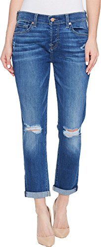 7 For All Mankind Women's Josefina With Knee Holes, Bella Heritage 2, 27