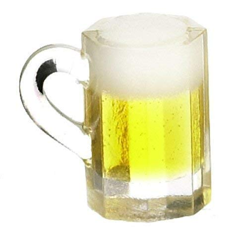 1:12 Scale Glass Of Beer /& A Can Tumdee Dolls House Pub Bar Drink Accessory 3