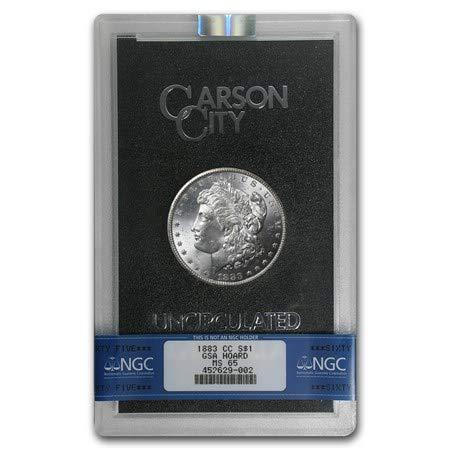 1883 CC Carson City Morgan Silver Dollar GSA $1 MS65 NGC ()
