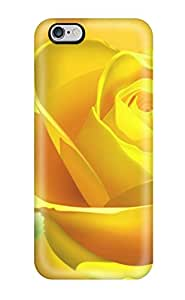 Tammy Song Fashion Protective Yellow Bloom Case Cover For Iphone 6 Plus