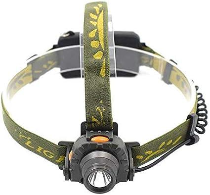 WYZQ Linterna Frontal Sensor infrarrojo IR Linterna LED ...