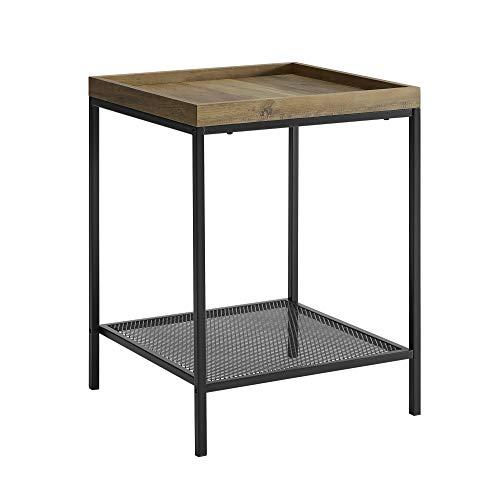 WE Furniture AZF18EMISTRO Side Table, 18