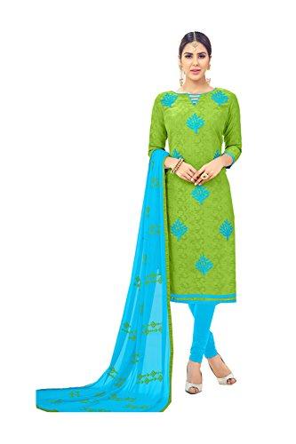 PinkcityShoppy Indian Women Designer Partywear Ethnic Traditonal Green Salwar Kameez by PinkcityShoppy