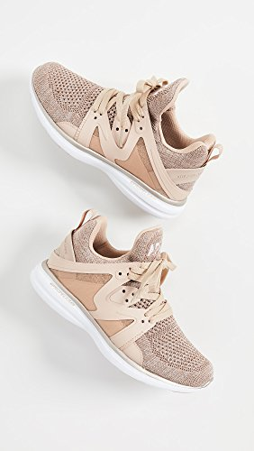 Apl: Athletic Propulsion Labs Mujer Ascend Sneakers Rose Gold / White