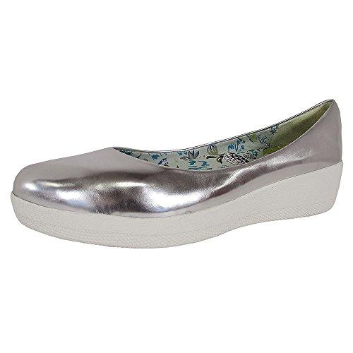 FITFLOP Anna Sui Super Ballerina Mujer Zapatos Metálico Metálico