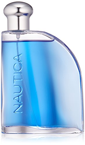 Nautica Blue Eau De Toilette Spray for Men, 3.4 fluid ounce from Nautica