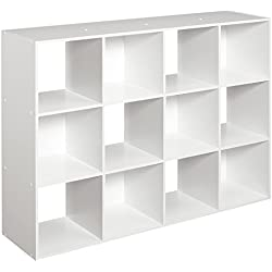 ClosetMaid 1290 Cubeicals Organizer, 12-Cube, White