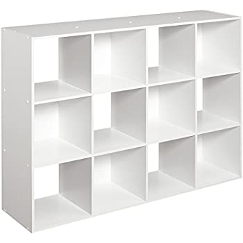 Perfect ClosetMaid (1290) Cubeicals Organizer, 12 Cube   White