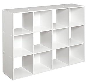 ClosetMaid (1290) Cubeicals Organizer, 12 Cube   White