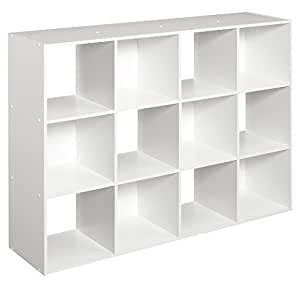 ClosetMaid (1290) Cubeicals Organizer, 12-Cube - White