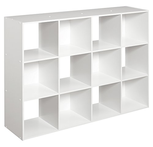 ClosetMaid 1290 Cubeicals Organizer, 12-Cube, White - Home Depot Shelving Units
