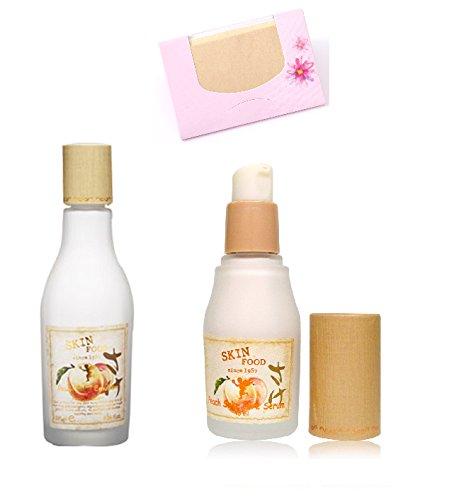 bundle-skinfood-peach-sake-emulsion-for-pore-care-135ml-skin-food-peach-sake-pore-serum-45ml-soltree