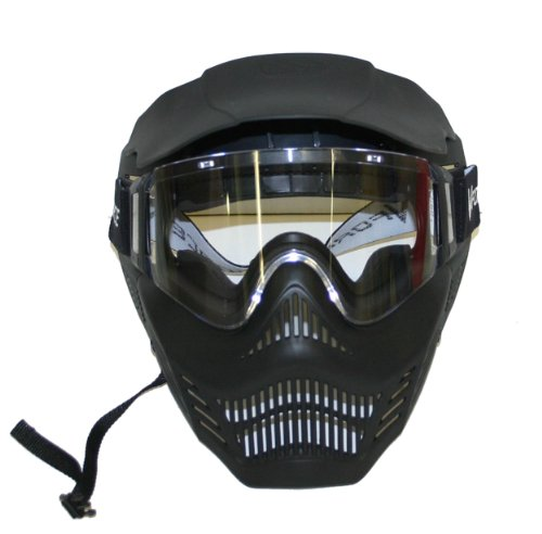 G.I. Sports VForce Armor Field Paintball Goggle Mask, Black