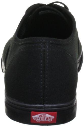 Vans AUTHENTIC LO PRO, Unisex-Erwachsene Sneakers, Schwarz (Black/Black), 43 EU