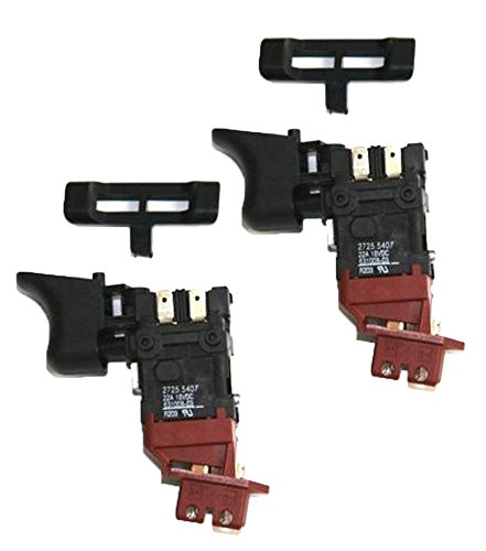 Dewalt DC330/DC759/DC825 Replacement (2 Pack) Trigger # 152274-23-2pk