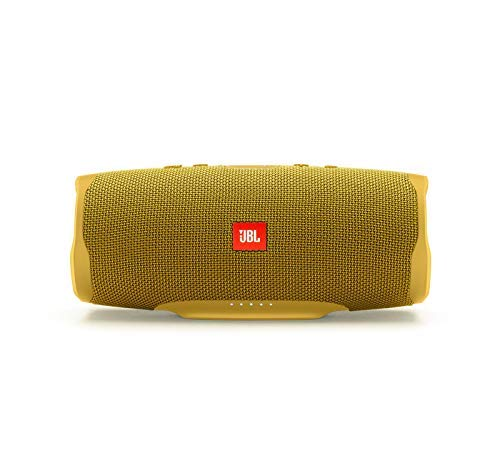 JBL Charge 4 Portable Waterproof Wireless Bluetooth Speaker - Yellow