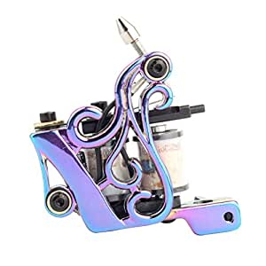 SUPVOX Máquina de tatuaje de bobina Liner y Shader Beauty Tool ...