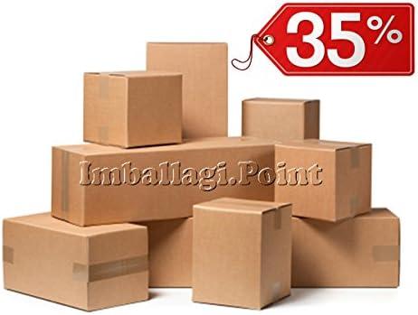 40 piezas caja de cartón embalaje envío 20 x 14 x 10 cm Caja Avana ...