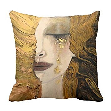Gustav Klimt Women pillow cover 18*18
