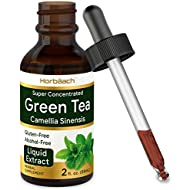 Green Tea Extract | 2 fl oz | Super Concentrated Liquid Supplement | Alcohol Free, Vegetarian, Non-GMO, Gluten Free | by Horbaach