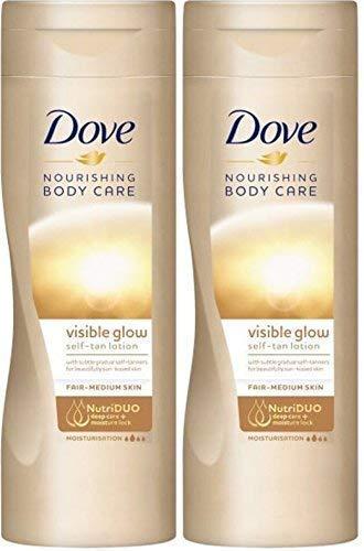 Loción de cuerpo Summer Glow Gradual de Dove, autobronceadora, de ...