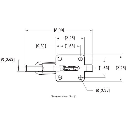 DE-STA-CO 608 Straight Line Action Clamp by De-Sta-Co (Image #4)