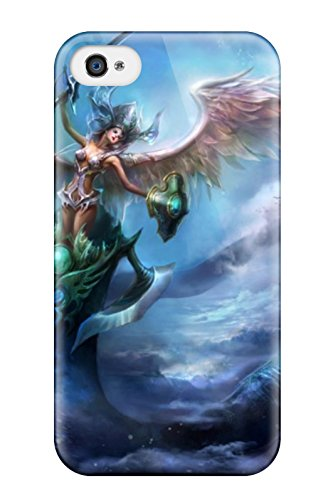 Fashion EfHZFpm11551NGYdd Case Cover For Iphone 4/4s(angel Warrior)