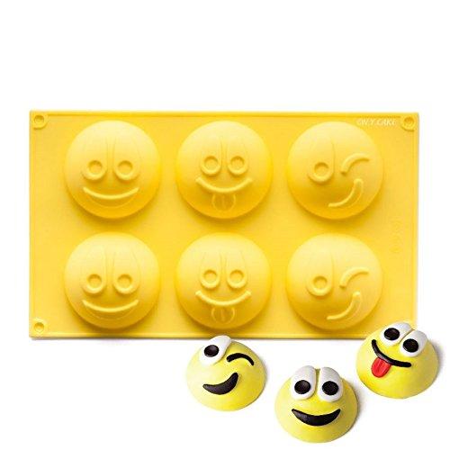 NY Cake Emoji Happy Face Silicone Baking Mold