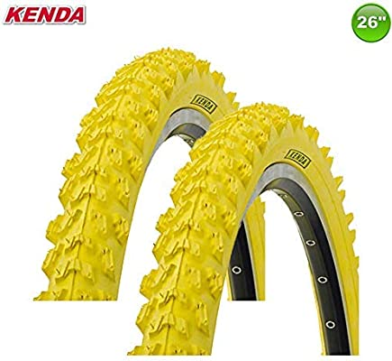 2 X Kenda MTB Neumático de la Bicicleta Cubierta - 26 X 1.95-50 ...