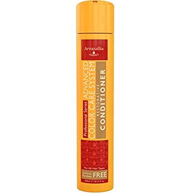 Advanced Color Care Restorative Conditioner for Color Treated Hair with Argan Oil and Macadamia Oil By Arvazallia - Sulfate Free Paraben Free