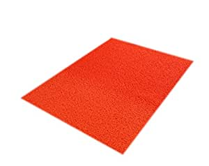 The Entrance Foyer Bathroom Thickened PVC Floor Mat ( Color : Red , Size : 80*120cm )