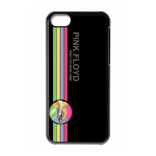 C3D47 logo Pink Floyd cas de téléphone R2W7XE coque iPhone 5c cellulaire couvercle coque noire KQ2CTU1XX