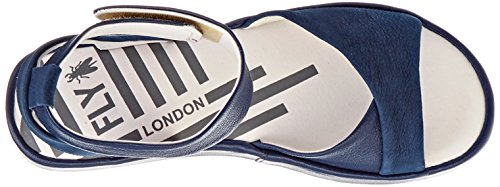 Fly London Donna Bibb854fly Sandalo 006 Blu