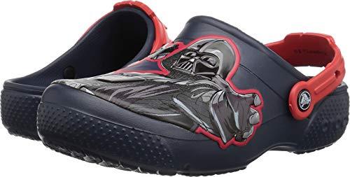 Crocs Kids' Fun Lab Star Wars Dark Side Clog, navy, 5 M US Toddler -