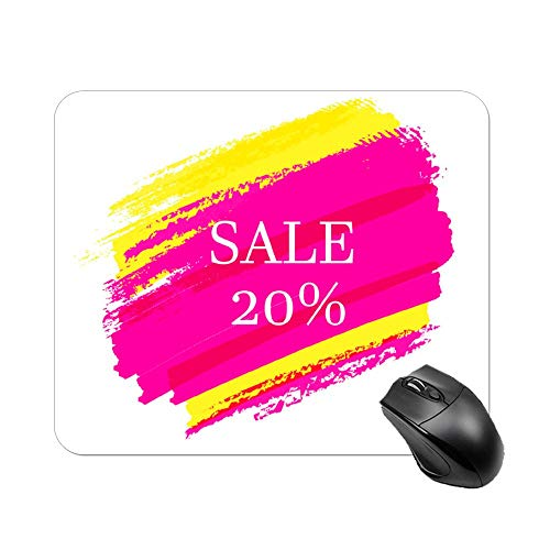- FGN Mouse Pad Stream Salad Violet Mousepad Non-Slip Rubber Gaming Mouse Pad Rectangle Mouse Pads for Computers Laptop